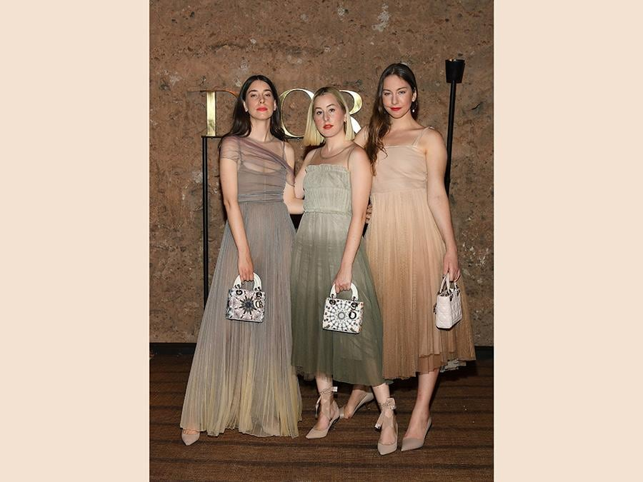The Haim (Pascal Le Segretain/Getty Images per Dior)