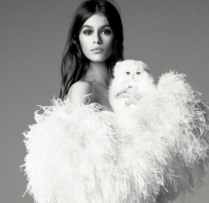 Kaia Gerber: nata nel 2001 e figlia d'arte (la sua mamma è Cindy Crawford, alla quale assomiglia molto), è una delle protagoniste delle passerelle di questi ultimi anni. Musa di Karl Lagerfeld, ha iniziato ad apparire nel mondo della moda a 10 anni, come modella per Versace Young, amnche se la sua prima sfilata è stata quella di Calvin Klein by Raf Simons nel 2017