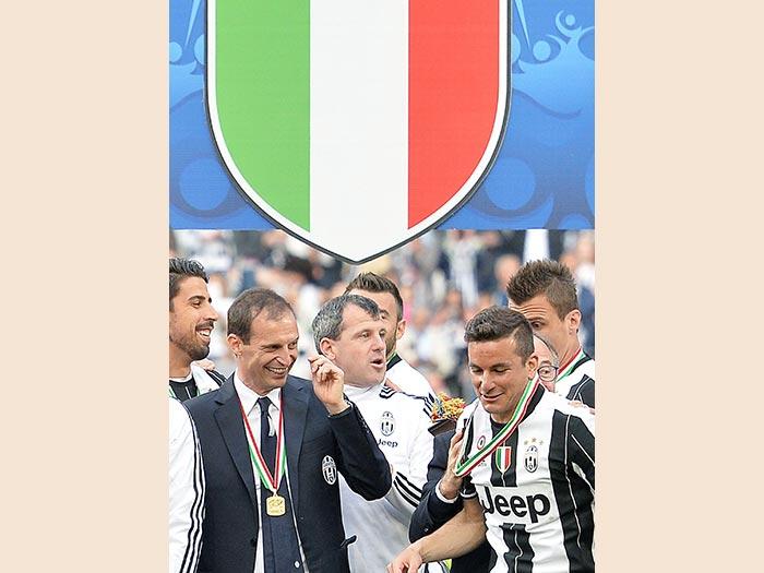 2016. Campione d'Italia. (Ansa)