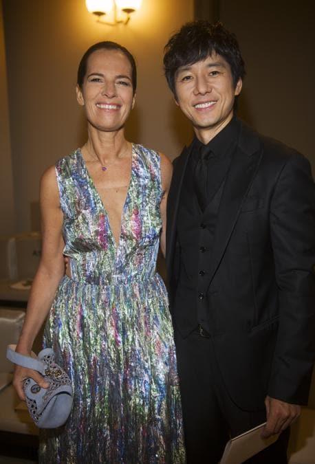 Roberta Armani con Hidetoshi Nishijima (credit SGP)