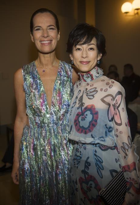 Roberta Armani con Honami Suzuki (credit SGP)