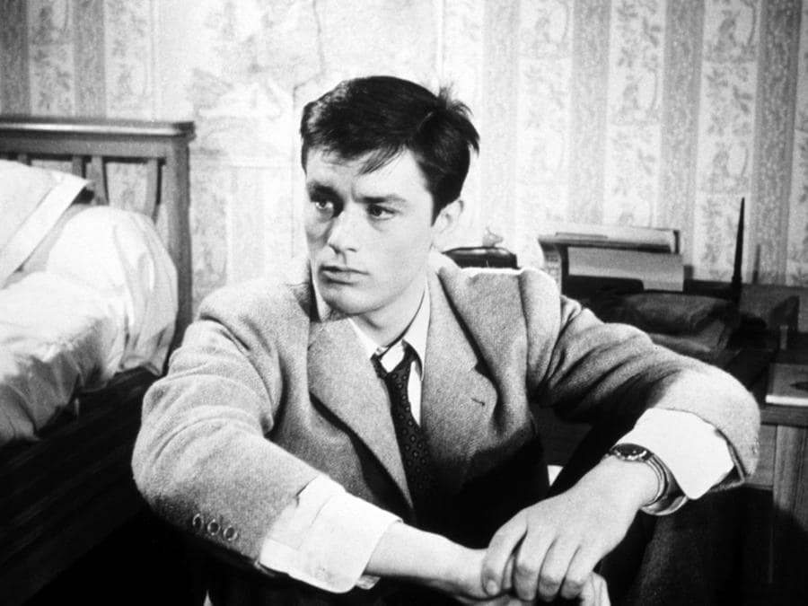 «Furore di vivere» del 1959 di Michel Boisrond con Alain Delon. (Collection Christophel © SPCE / Franco London Films)