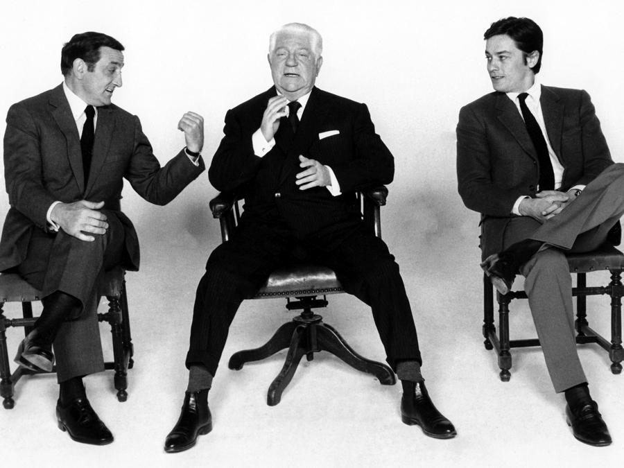 «Il clan dei siciliani» del 1969 di Henri Verneuil con Jean Gabin, Alain Delon e Lino Ventura. (Collection Christophel © Les Productions Fox Europa / Les Films du Siecle)