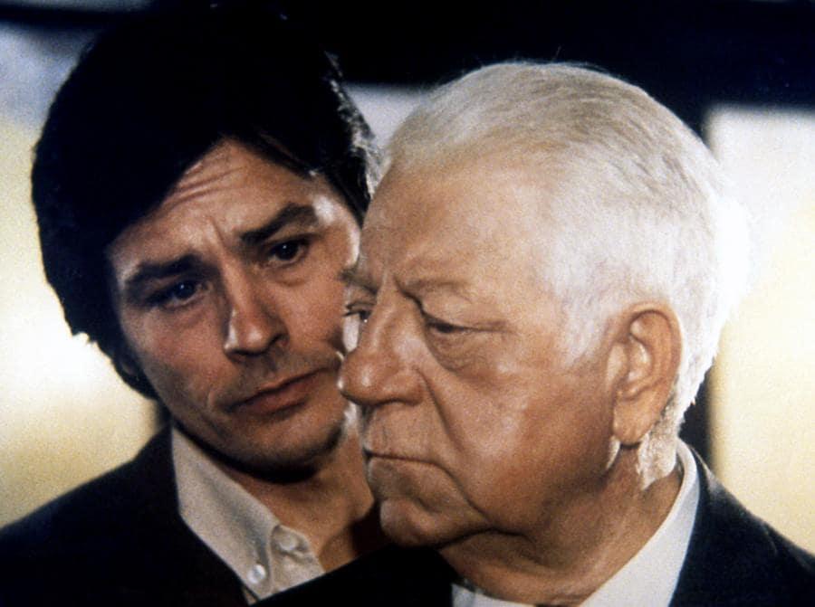 «Due contro la città» del 1973, di Jose Giovanni con Jean Gabin e Alain Delon. (Collection Christophel © Adel Productions / Medusa Distribuzione)