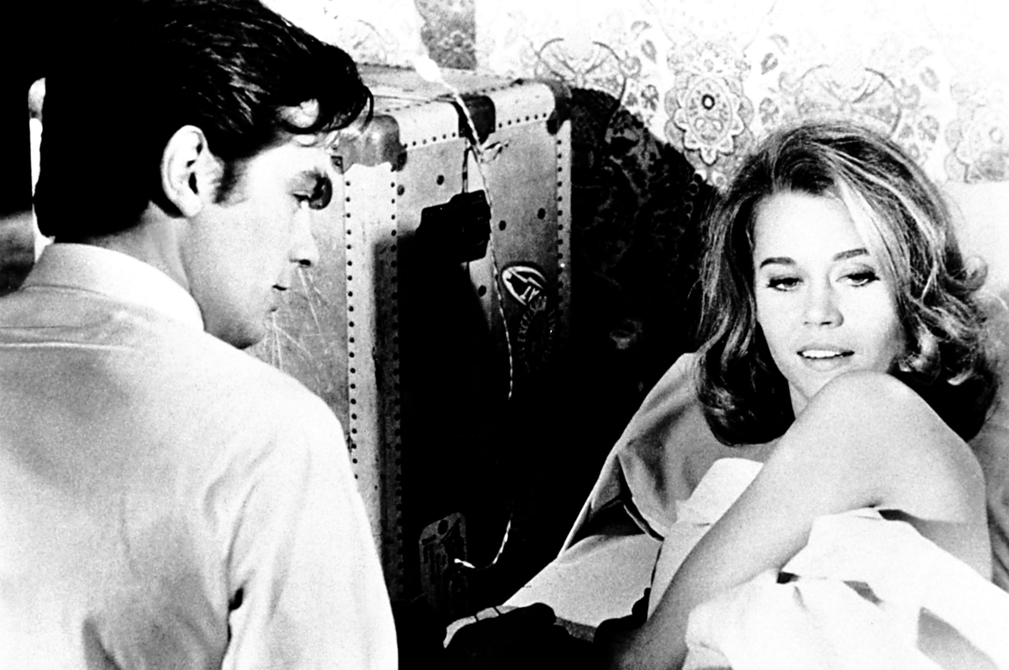 «Crisantemi per un delitto» del 1964, di Rene Clement, con Alain Delon e Jane Fonda. (Collection Christophel © MGM / Cite films / CIPRA)