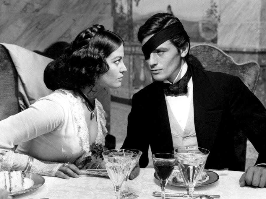 «Il Gattopardo» del 1963 di Luchino Visconti, con Alain Delon e Claudia Cardinale (COLLECTION CHRISTOPHEL© Titanus)