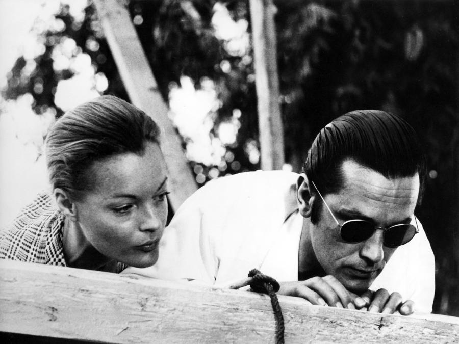 «L'assassinio di Trotsky» del 1972 di Joseph Losey, con Alain Delon e Romy Schneider. (COLLECTION CHRISTOPHEL © Dino de Laurentis cinematografica)