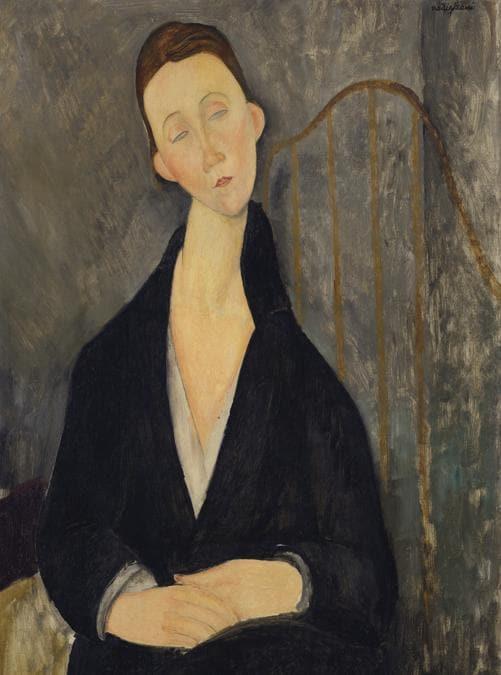 Amedeo Modigliani (1884-1920), Lunia Czechowska (à la robe noire), oil on canvas, painted in 1919