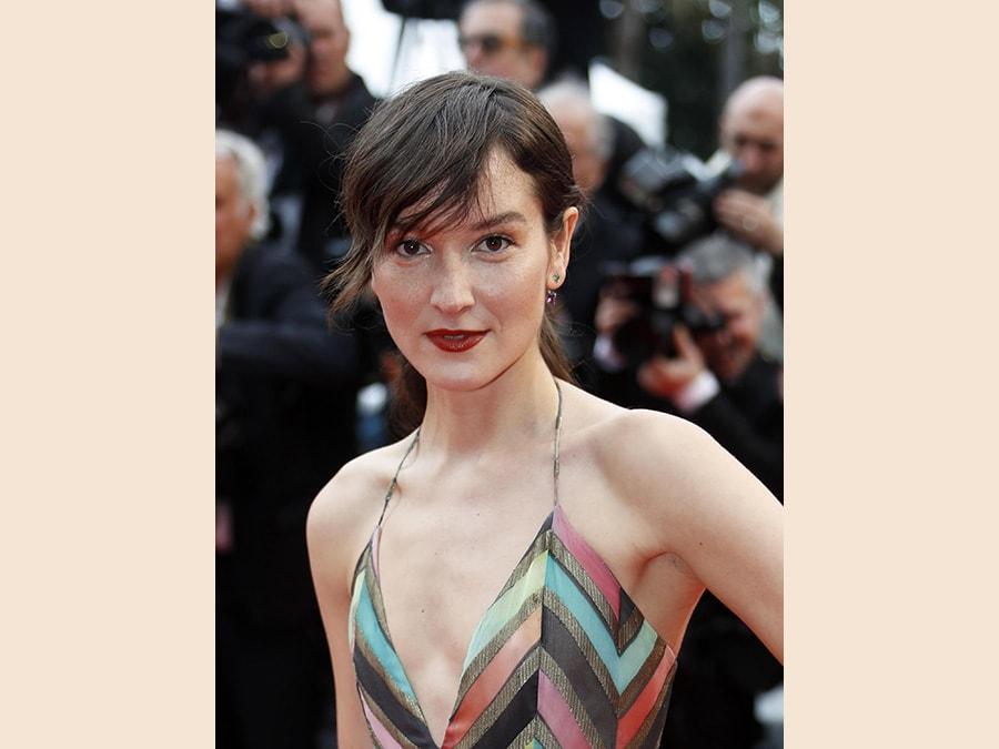 L'attrice francese,  Anais Demoustier. (Epa/Sebastien Nogier)