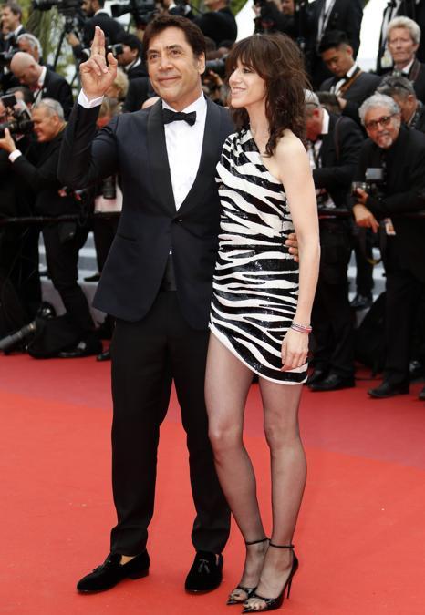 Charlotte Gainsbourg e Javier Bardem (REUTERS/Eric Gaillard)