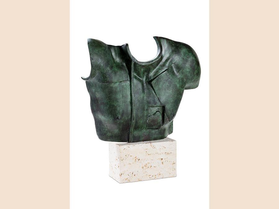 Finarte Igor Mitoraj scultura «Helios» del 1988, multiplo 633 su 1.000 esemplari, realizzata a  28.750 euro