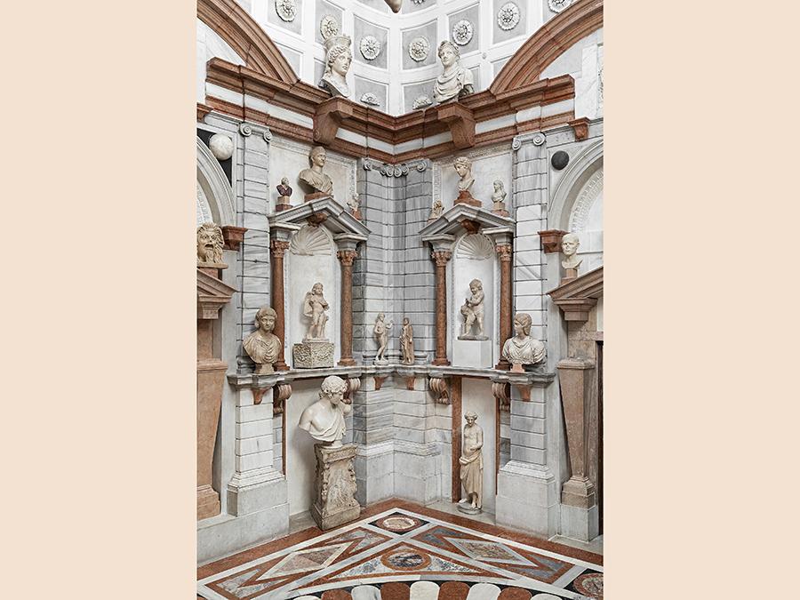 Domus Grimani 1594 - 2019. Venezia, Museo di Palazzo Grimani . Tribuna . Su concessione del Ministero per i beni le attività culturali - Polo museale del Veneto. (Foto di: Matteo De Fina)