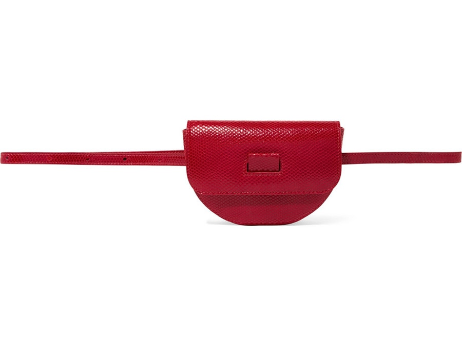 Belt bag in pelle con cintura Wandler