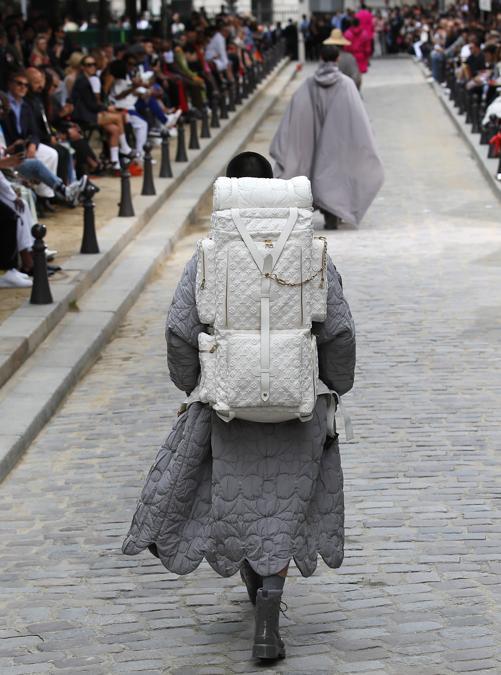 La sfilata Louis Vuitton (Ansa/Ap)