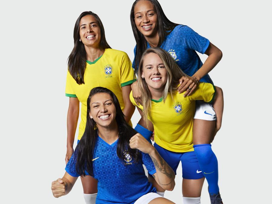 Brasile. Andressa Alves, Andessinha, Bia Zaneratto e Adriana Silva