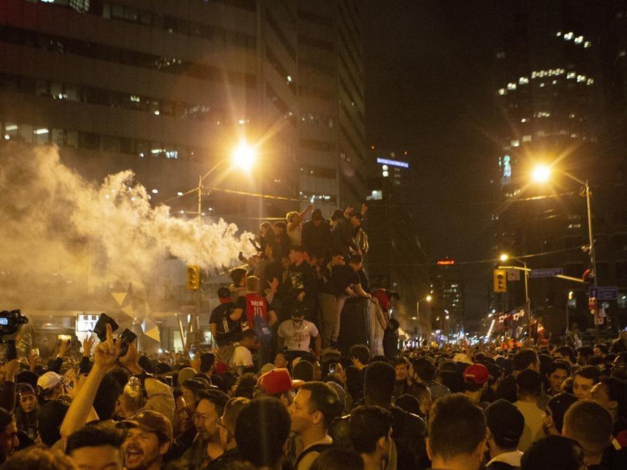 (Chris Young/The Canadian Press via AP)