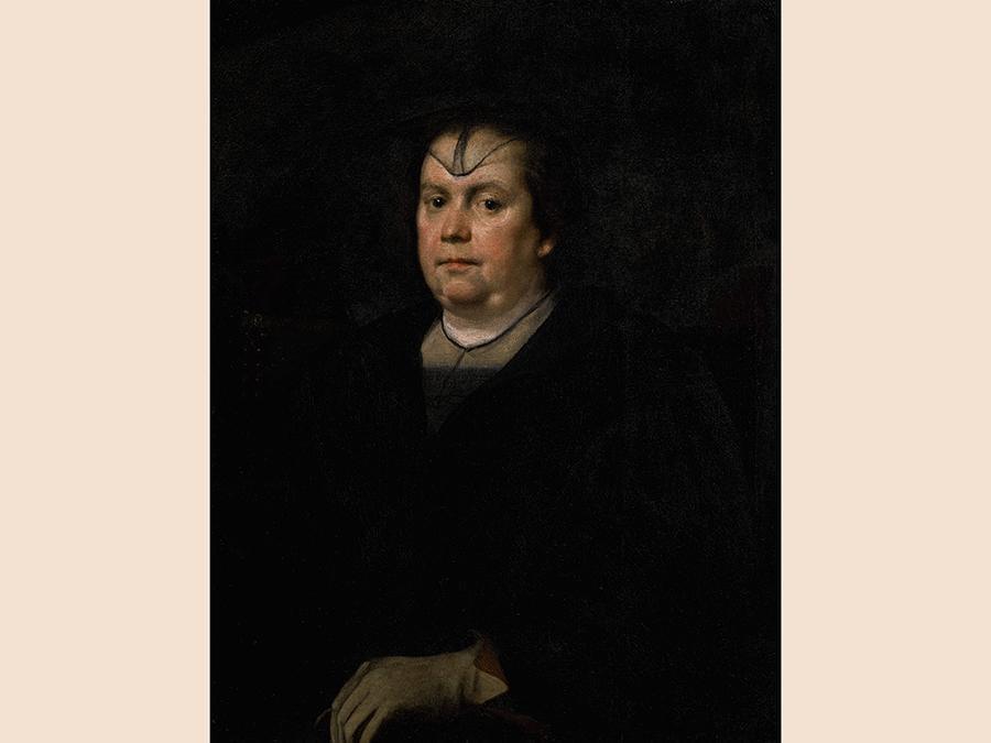 Diego Rodriguez de Silva y Velazquez, Portrait of Olimpia Maidalchini Pamphilj, oil on original canvas, est.£2,000,000-3,000,000