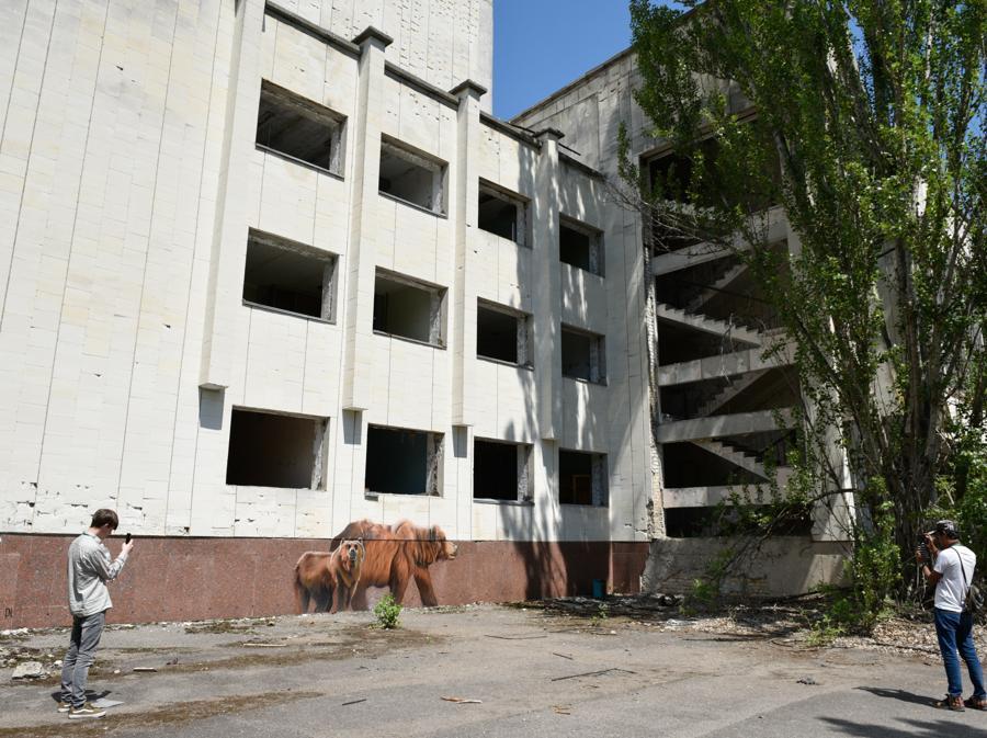 Foto ricordo  da Pripyat  (Stringer / Sputnik)