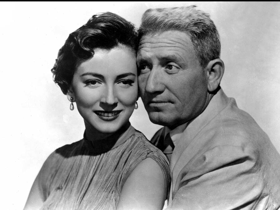 East of the rising sun (US 1949) Valentina Cortese e Spencer Tracy (Agf)