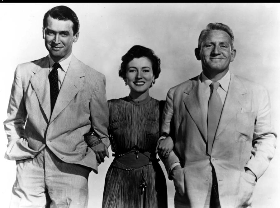 East of the rising sun (US 1949) James Stewart, Valentina Cortese e Spencer Tracy (Agf)