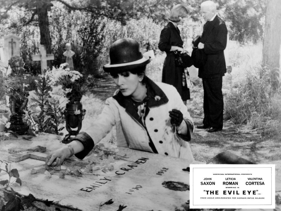 La ragazza che sapeva troppo (IT 1963) Valentina Cortese, Leticia Roman (Agf)