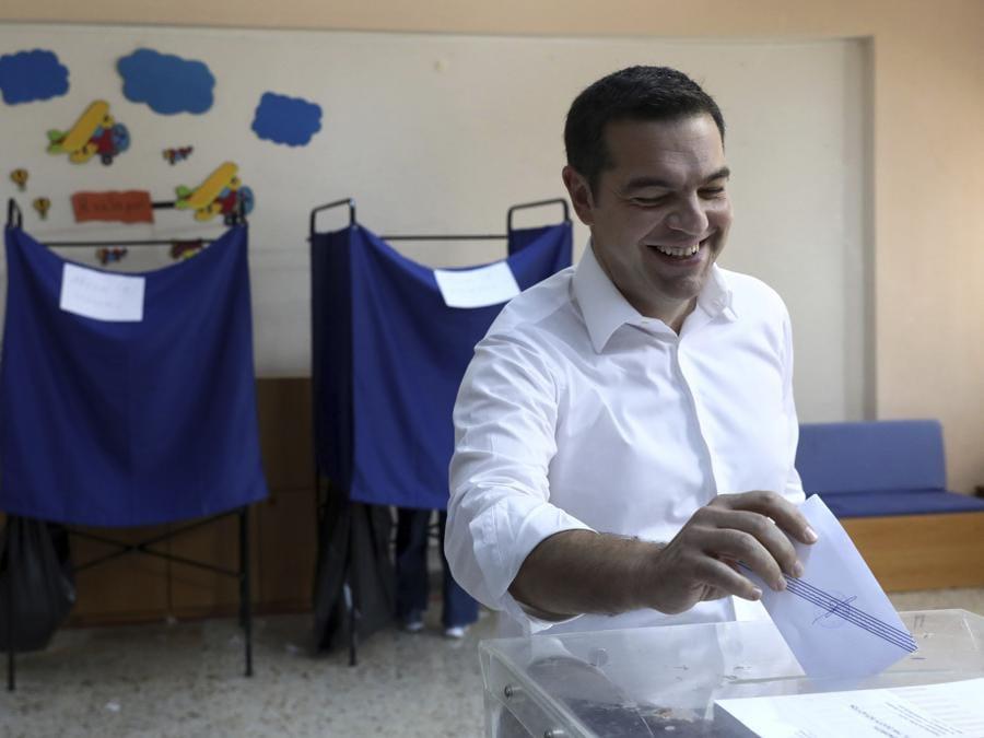 Alexis Tsipras (AP Photo/Yorgos Karahalis)