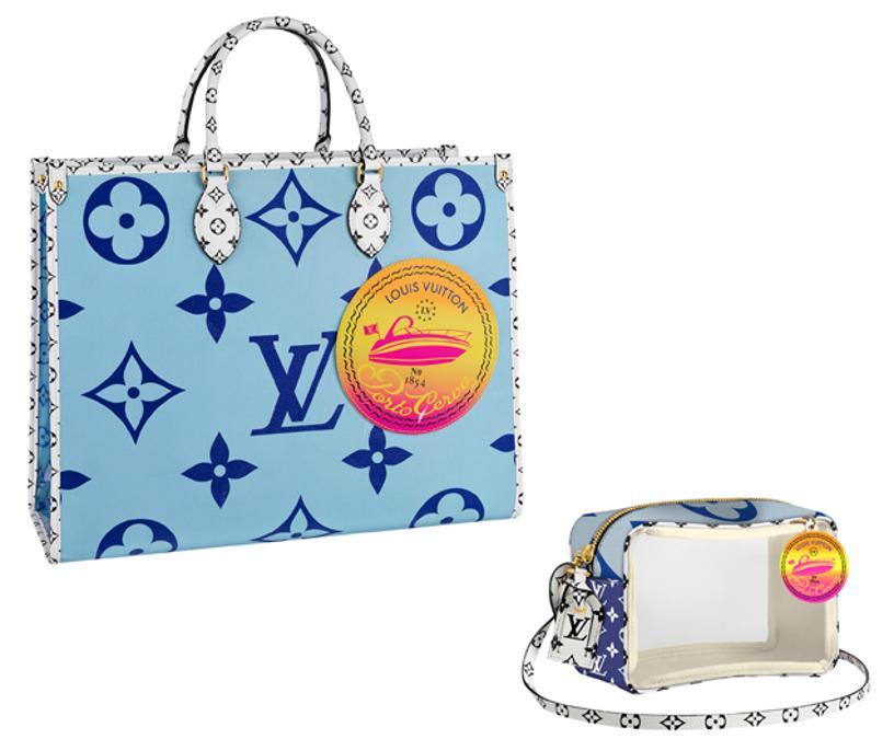 Le borse Louis Vuitton in versione speciale per la boutique di Porto Cervo