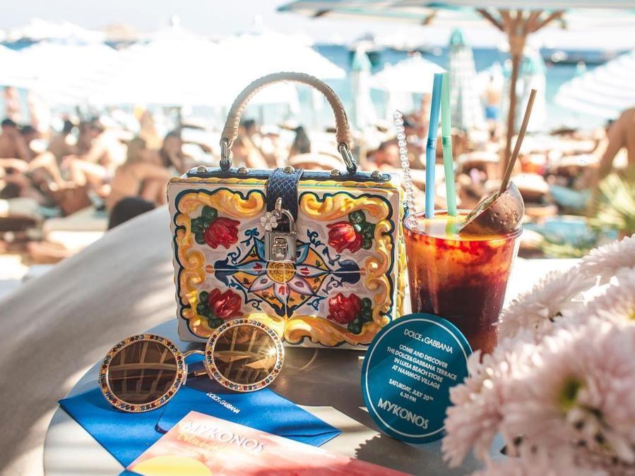 Dolce&Gabbana da Luisa Beach a Mykonos