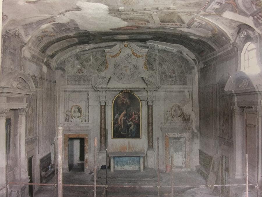 Ex Chiesa di San Procolo a Firenze. Sabap Firenze