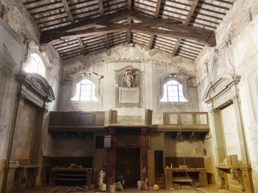 Ex Chiesa di San Procolo a Firenze. Studio Architettura Bracciali