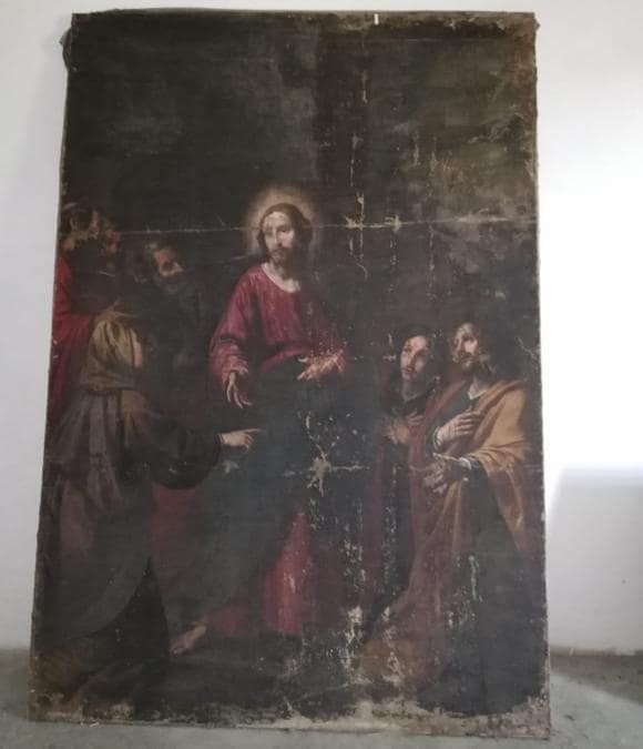 Matteo Rosselli, Cristo e la moglie di Zebedeo, tela, 1623 circa (Archivio Sabap Firenze)