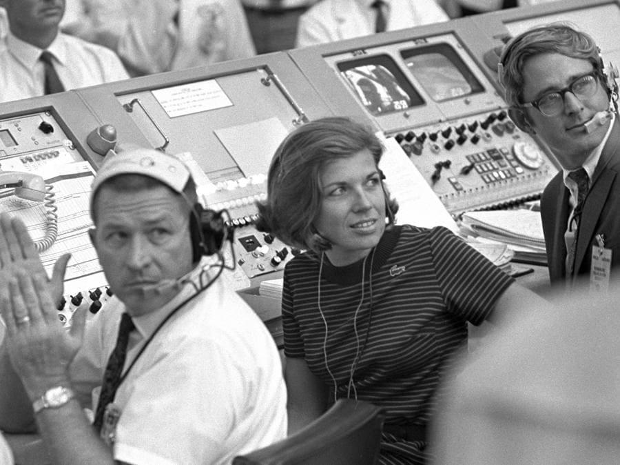 16 luglio 1969, Cape Canaveral, Florida.   JoAnn Morgan  (Nasa via Ap)