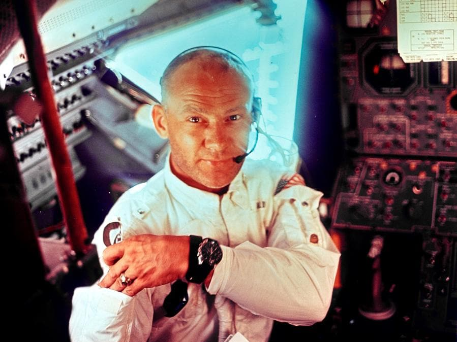 20 luglio 1969, Edwin 'Buzz' Aldrin (Reuters)