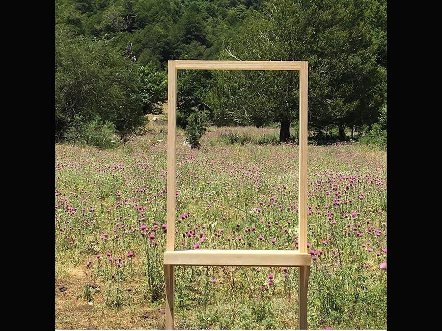 Matteo Fato, «Specchi Angelic»i 2019. Installazione. Parco Nazionale dell'Abruzzo