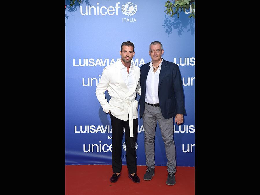 Tommaso Chiabra e  Paolo Rozera  (Jacopo Raule/Getty Images)