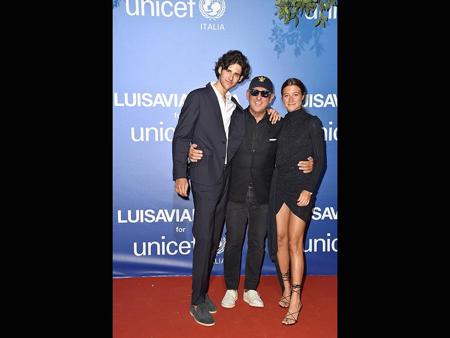 Nickolaus Panconesi, Andrea Panconesi e  Annagreta Panconesi (Jacopo Raule/Getty Images)