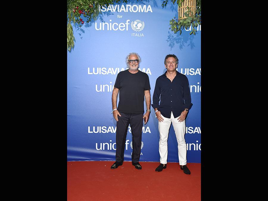 Flavio Briatore e Alejandro Agag (Jacopo Raule/Getty Images)