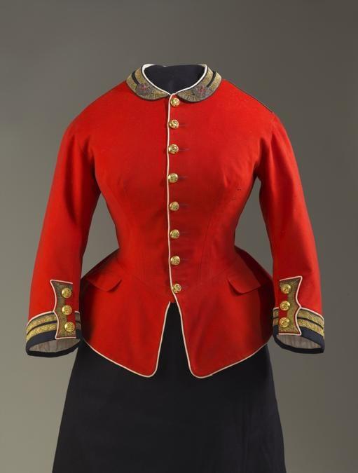 Giacca militare della regina Vittoria. (credit Royal Collection Trust - Her Majesty Queen Elizabeth II 2019)