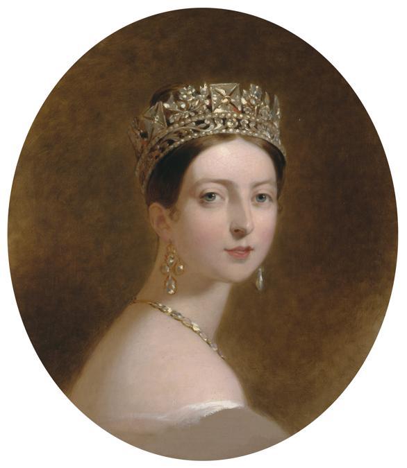 Thomas Scully, ritratto della regina Vittoria,  1837-39. (credit Royal Collection Trust - Her Majesty Queen Elizabeth II 2019)