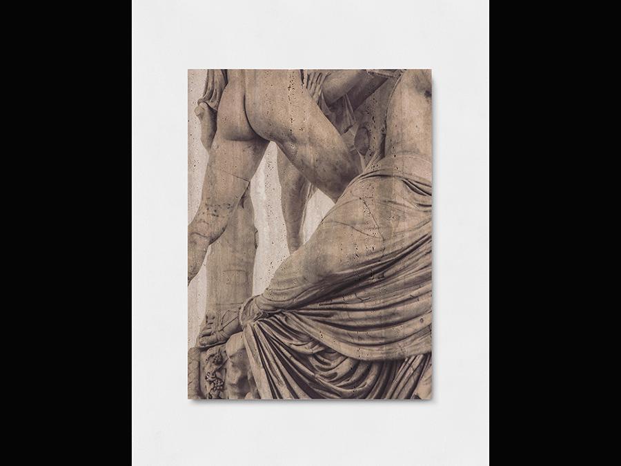 Elisa Sighicelli, 'Untitled (6891)' 2019, 80x100x4 cm. Stampa UV su marmo (foto di  Sebastiano Pellion di Persano)