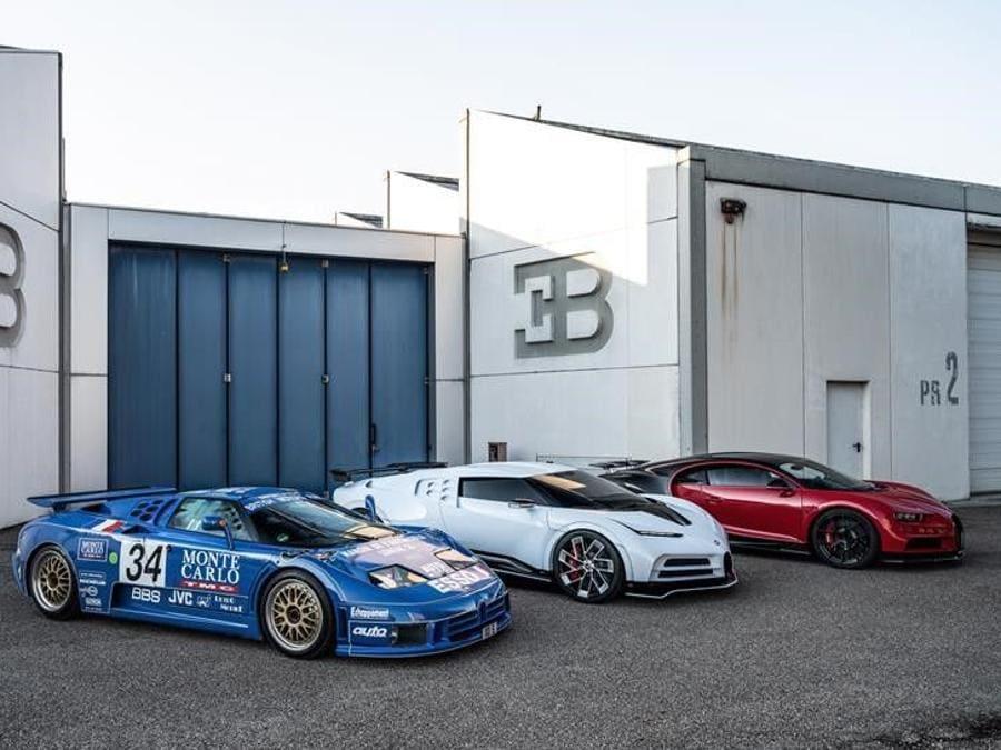 Bugatti EB110 Centodieci