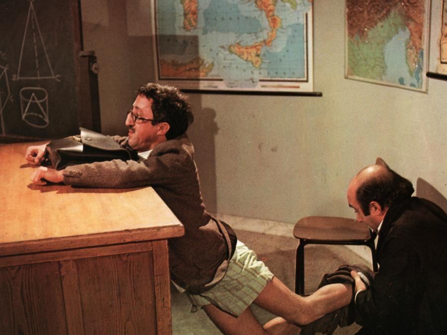 1975. CarloDelle Piane in 'L'insegnante' di Nando Cicero