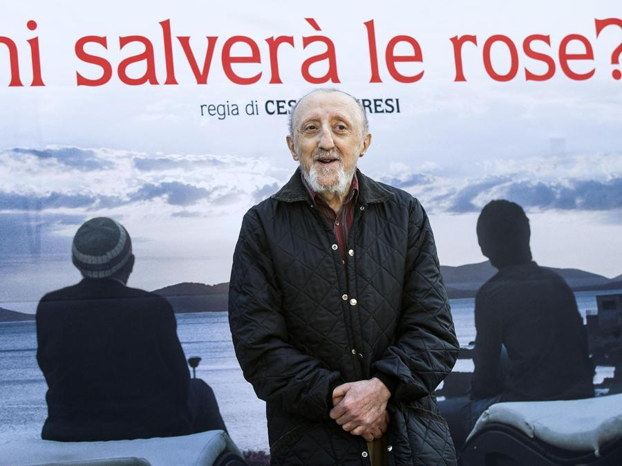 2017, Roma. Alla presentazione del film  'Chi salverà le rose?' (Ansa)