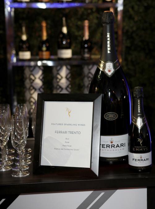 Ferrari Trentodoc brindisi ufficiale degli Emmy Awards 2018