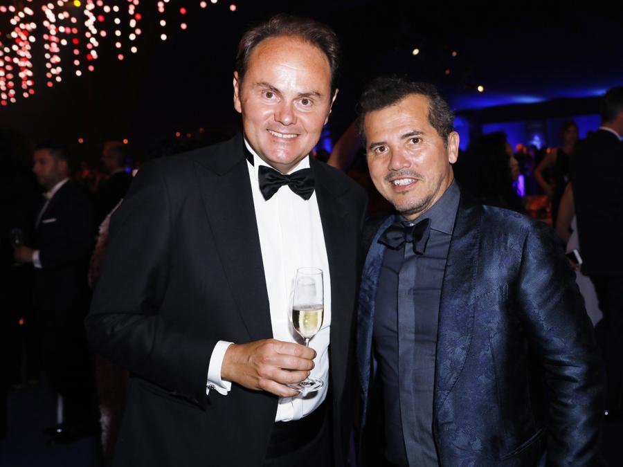 Matteo Lunelli e John Leguizamo