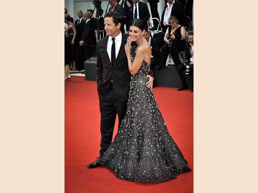 hostess Alessandra Mastronardi con il compagno Ross McCallFoto IPP/ Daniele Cifala'