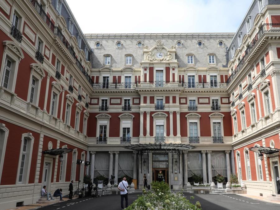 Hotel du Palais  Biarritz  (Reuters)