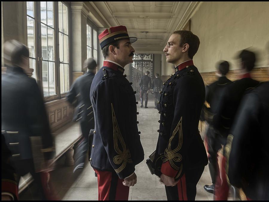 Immagini del film «J'accuse» (2019) . Jean Dujardin  e Louis Garrel( foto IPP/DC)