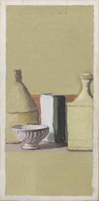 Farsettiarte - Giorgio Morandi, «Natura morta» 1957, stima 280-350.000 €, venduto a 360.000