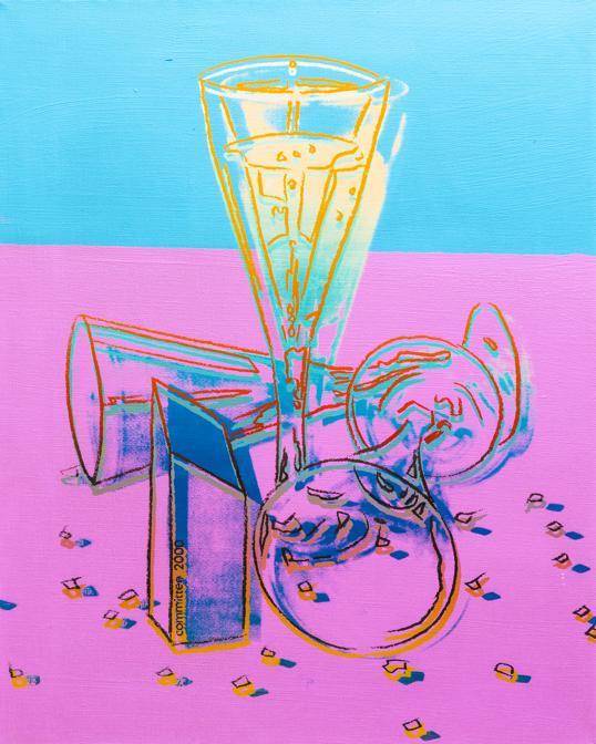 Studio d'Arte Martini  - Andy Warhol, «Committee 2000» 1982, stima 100-120.000 €, venduto a 90.000